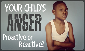 Your Child's Anger Proactive or Reactive